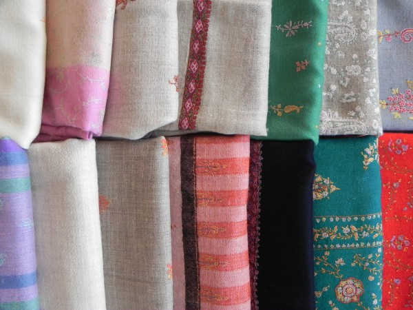 Selection of Pure Pashmina
