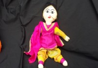 Pink Indian Doll