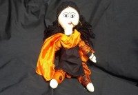 Orange Indian Doll