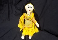 Yellow Indian Doll