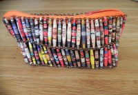 Recycled Paper Bead Purses