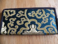 Green Tibetan Ladies Wallet