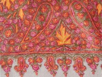 Maple Leaf Pashmina Shawl