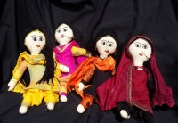 Empower Her Indian Folk Dolls