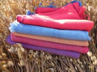 Vegetable Dyed Handloomed Stoles