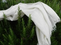 Natural White Pashminas